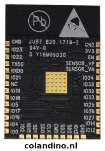 ESP-WROOM-32 WiFi BLE Module