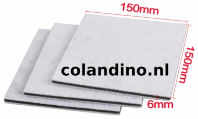 HEPA Filter 3 laags met koolstof €0,70 in China